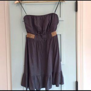 Fun and flirty strapless dress small